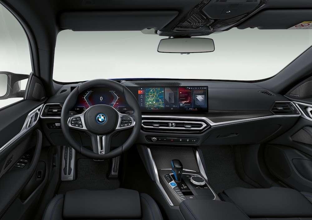 BMW i4 M50 interni