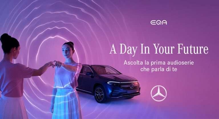 Mercedes EQA con Matilda De Angelis