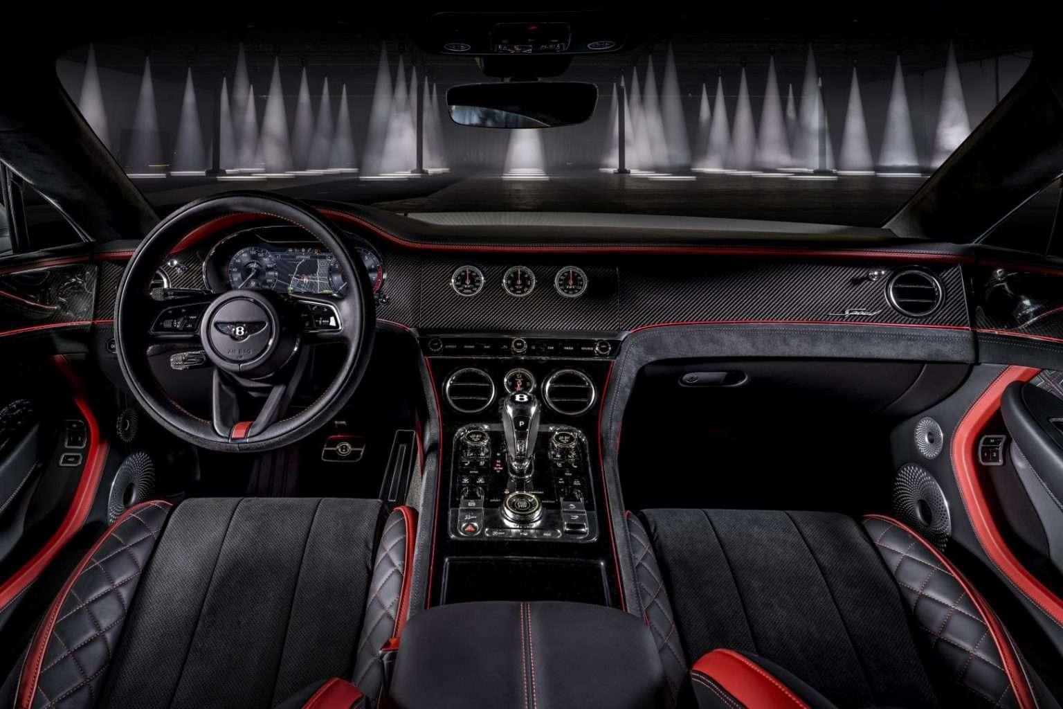 Bentley Continental GT Speed interni