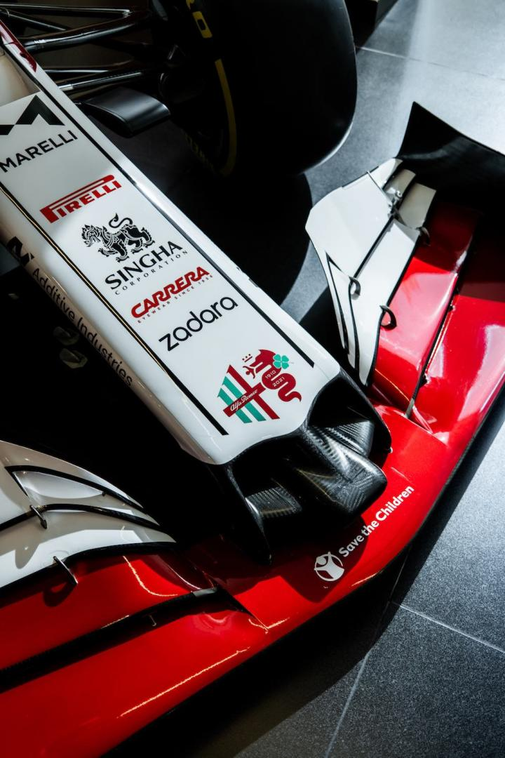 Alfa Romeo Monoposto Tricolore